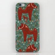 Jolly Dala Horse  iPhone & iPod Skin