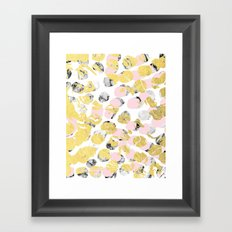 Stellan - Rose Marble Go… Framed Art Print
