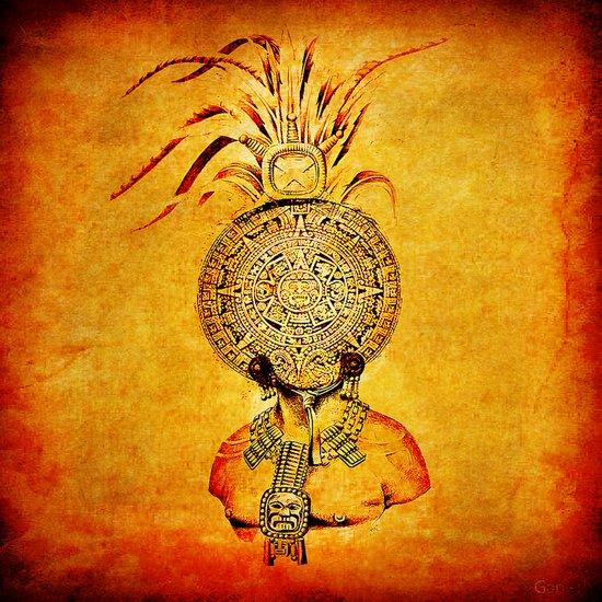 Divinity Maya Canvas Print