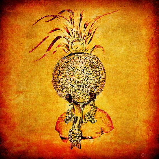 Divinity Maya Art Print