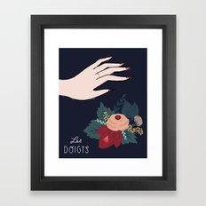Les Doigts Framed Art Print