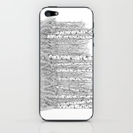 Birch Trees Black And Wh… iPhone & iPod Skin