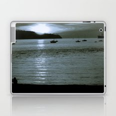 watching the sun set Laptop & iPad Skin