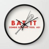Bat It - Zombie Survival… Wall Clock