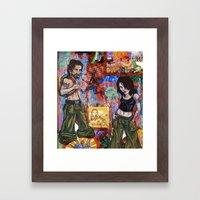 Rock Tour Respite Framed Art Print
