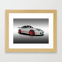 Porsche GT3 Rs Framed Art Print