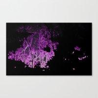 Ultraviolet Nightfall Canvas Print