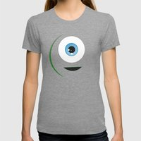 MONSTERS Womens Fitted Tee Tri-Grey SMALL