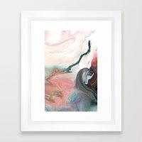 OSTRACIZED!! Framed Art Print