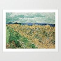 Vincent Van Gogh - Wheat… Art Print