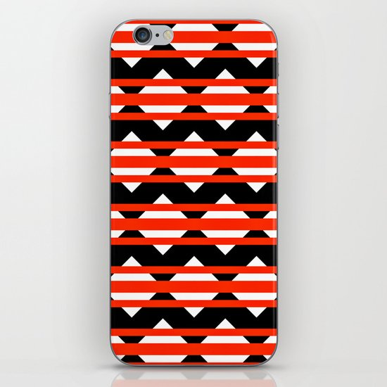 Vreugdehil Black & Red iPhone & iPod Skin