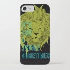 It's Like a Jungle Sometimes... Slim Case iPhone 7