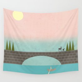 Wall Tapestry - When Country Meets the Sky - Tammy Kushnir