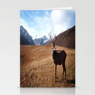 The Pure Deer Stationery Cards
