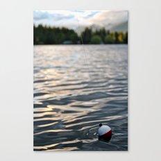 Fishin'  Canvas Print