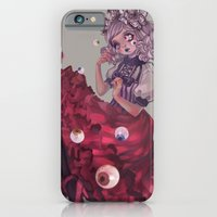 iPhone & iPod Case featuring Crying flower by zihling