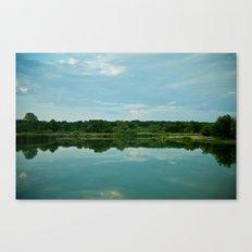Lake Reflections. Canvas Print