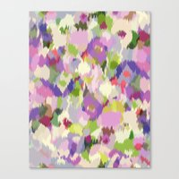 Monet's Gardens Canvas Print