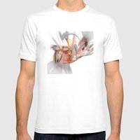 Beautiful Chaos Mens Fitted Tee White SMALL
