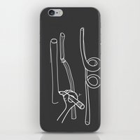 Drawing Straws iPhone & iPod Skin