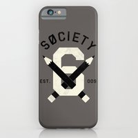 iPhone Cases featuring S6 TEAM PLAYER by Wesley Bird