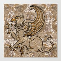 GRIFFIN Canvas Print
