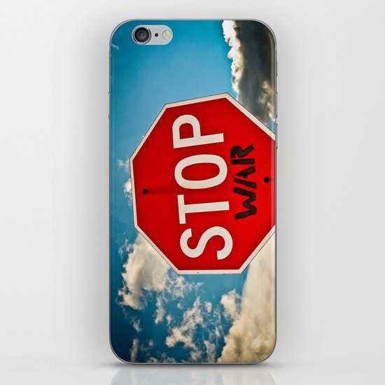 stop iPhone & iPod Skin