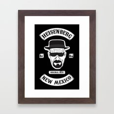Sons Of Heisenberg Framed Art Print