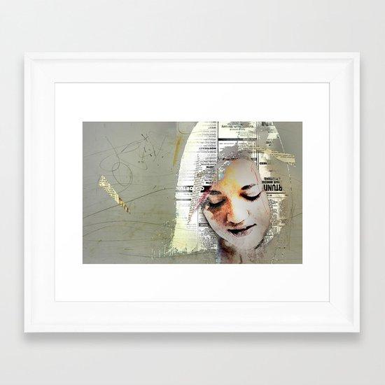 A Girl Named E Framed Art Print