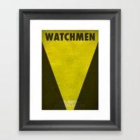 Watchmen - Silk Spectre … Framed Art Print