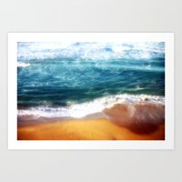 Colourful Seascapes Art Print