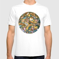 With Bird Biting Shirt S… Mens Fitted Tee White SMALL