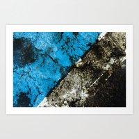 asphalt 2 Art Print