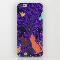Purple Tree iPhone & iPod Skin