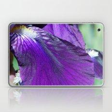 purple iris Laptop & iPad Skin