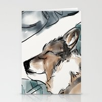 Charles Blue Stationery Cards