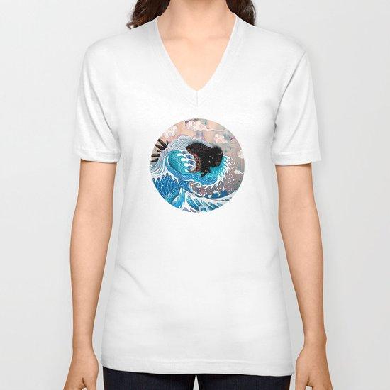 The Unstoppabull Force V-neck T-shirt