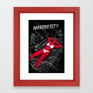 Cities Of Rock - Los Ang… Framed Art Print