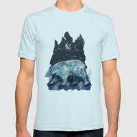The Great Bear Mens Fitted Tee Light Blue SMALL