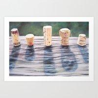 Corks Art Print