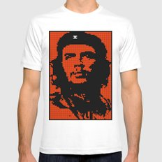Che Bit SMALL Mens Fitted Tee White