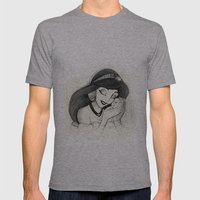 Jasmine Mens Fitted Tee Athletic Grey SMALL