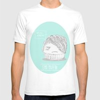 Emo Muffin Mens Fitted Tee White SMALL