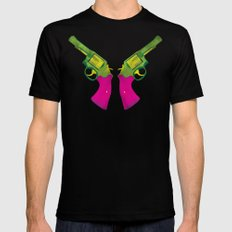 Play Guns Mens Fitted Tee Black SMALL
