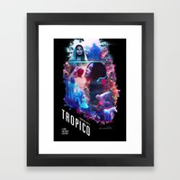 Body Electric  Framed Art Print