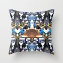 Bird Feast Throw Pillow