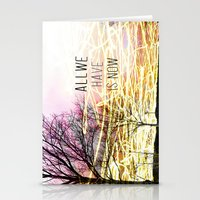 Unexplored Avenues by Debbie Porter Stationery Cards