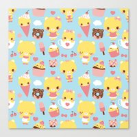 Sweet Pattern Canvas Print