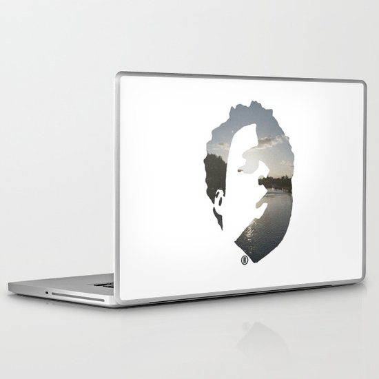Face & The Ocean Laptop & iPad Skin