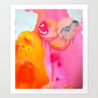 Little Fetus Waiting To Meet Us Art Print